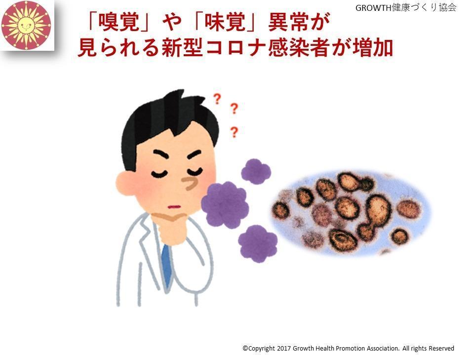 味覚 障害 症状 コロナ